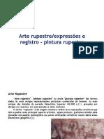 Arte rupestre Expressões e Registro - Pintura Rupestre.pdf