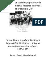 Movimientos Sociales Populares y La Izquierda Chilena