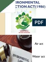 Environmental Protection Act(1986)