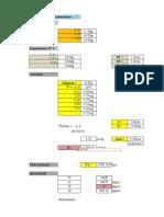 Calculos Analisis Dimencional Ensayo de Laboratorio