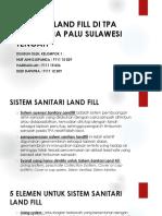 Sanitari Land Fill Di Tpa Kawatuna Palu Sulawesi