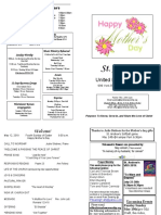 St Andrews Bulletin 051219 Mothers Day
