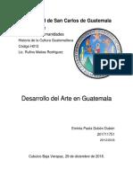 Arte moderno en Guatemala.docx