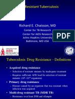 Lecture Slides-Drug Resistant TB