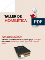 Taller Homilética Diapositivas