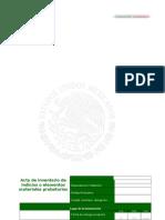 Acta de Inventario de Indicios o Elementos Materiales Probatorios