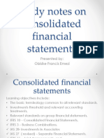 Financial Reporting Presentation