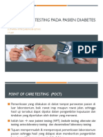 POINT OF CARE TESTING PADA PASIEN DIABETES MELITUS.pptx