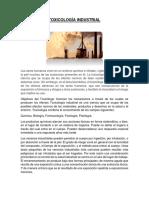 TOXICOLOGÍA INDUSTRIAL resumen.docx