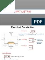 Sifat Listrik & Magnet