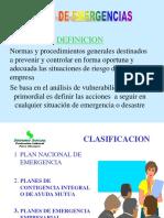 BRIGADAS PLAN DE EMERGENCIAS
