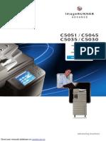 IMAGERUNNER ADVANCE C5051.pdf