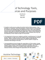 assisted technology tools resources and purposes