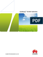 Quidway S5300 Series Gigabit Enterprise Switches