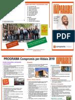 PROGRAMA COMPROMÍS PER ALDAIA MUNICIPALES 2019