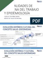 Videoconferencia 1. Generalidades de Medicina Del Trabajo y Epidemiología - Copia