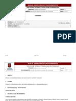 Manual Módulo de Contraseñas