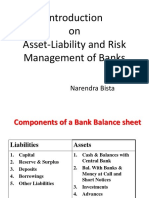 Introduction to Asset Liability and Risk Mgmt