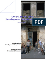 Conflict Related Development Analysis (2003) -- UNDP Bureau for Crisis Prevention & Recovery