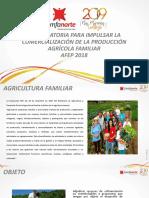PRESENTACIÓN AGRICULTURA FAMILIAR