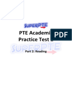 PTE Writing Mock Test 2