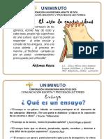 Presentacion Ensayo Unimuto