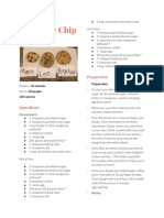 austin gray chocolate chip card recipe