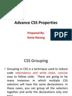 Advance CSS