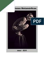 (msv-831) Variaciones Metamórficas