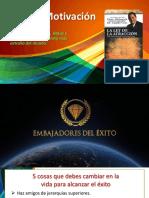 EXITO Y MOTIVACION DEFINITIVA.pptx