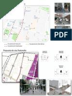 Propuesta Vias Peatonales