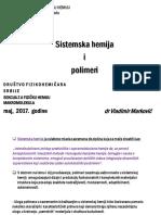 Sistemska Hemija i Polimeri_VMarkovic