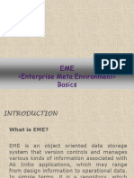 Introduction to EME - AB INITIO