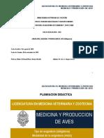 MEDICINA Y PRODUCCIÓN Avicola  UADY CCBA