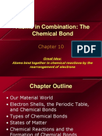 Chapter 10 - Atoms in Combination, The Chemical Bond