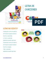 Letra CD Cobu Ciclo b