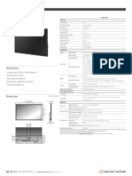 Samsung Wisenet Smt 3233 Data Sheet