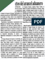Analizan Efecto Del Arancel Aduanero - Diario El Impulso 11.06.1989