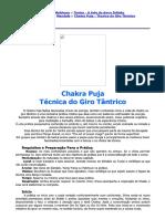 Chakra Puja - Técnica Do Giro Tântrico