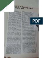 El Genero Autobiografico en El Siglo Xix - Isabel Stratta