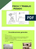 Carga Física y Trabajo Pesado