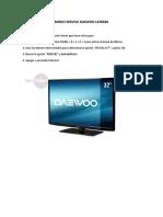 Tv Daewoo  L32R630