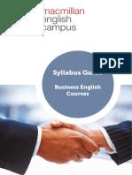 Business English Syllabus