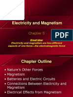 Chapter 5 - Electricity and Magnetism
