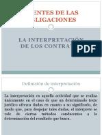07- Parte General de La Contratación (VI) - La Interpretación de Los Contratos