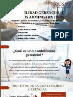 Contabilidad Gerencial y Proceso Administrativo