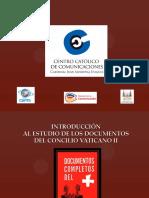 04 Introduccion a Los Documentos Del Vaticano II