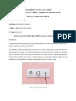 INSTALACIONES ELÉCTRICAS ESPECIALES