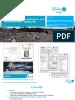 Evaluación de Daños en Edificaciones en La Avenida Torrencial - Mocoa 2017