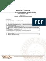 Informe Técnico al Proyecto de Ley N° 3793/2018-PE